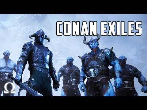 WINTER IS COMING, THE FROZEN NORTH! | Conan Exiles Frozen North Expansion Ft. Friends!