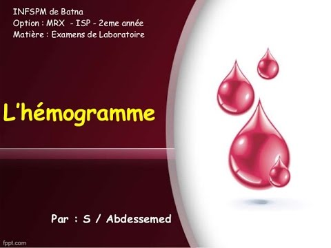 L' hémogramme