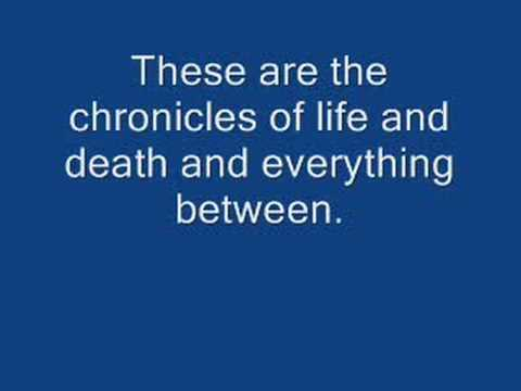 The Chronicles of Life and Death-Good Charlotte lyrics