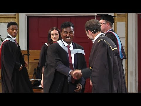 Degree Congregation 3pm Wednesday 12 July 2017 - University of Leicester