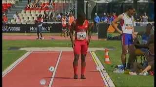 Athletics -  Ahkeel Whitehead - men