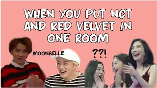 when you put nct and red velvet in one room || nctvelvet