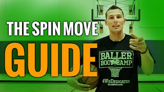 How to spin move in basketball: basketball moves for guards