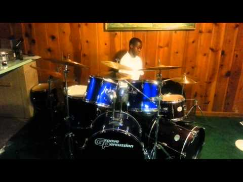 Tymir Forrest age 11 on the Drums to Adele