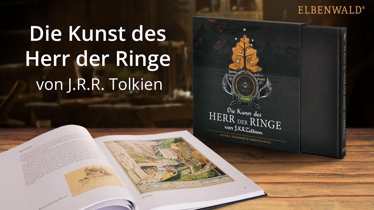 Die Kunst Des Herr Der Ringe Artbook Zu Tolkiens Epos Youtube