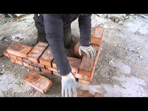 кладка в пол кирпича под перекрытие плитами .Nivok111