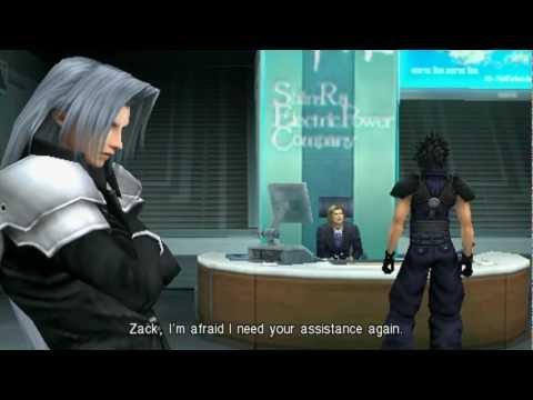 Crisis Core: Final Fantasy VII Full Film [HD]