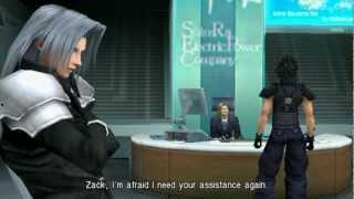 Repeat youtube video Crisis Core: Final Fantasy VII Full Film [HD]
