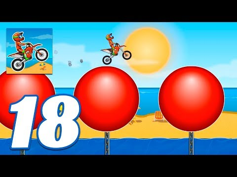 Moto X3M Bike Race Game Pool Party All Levels - Gameplay Android & IOS Games