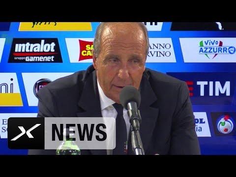 Gian Piero Ventura mit Kampfansage an Spanien | Italien - Liechtenstein 5:0 | WM-Quali