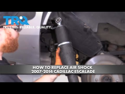 How To Replace Air Shock 2007-14 Cadillac Escalade