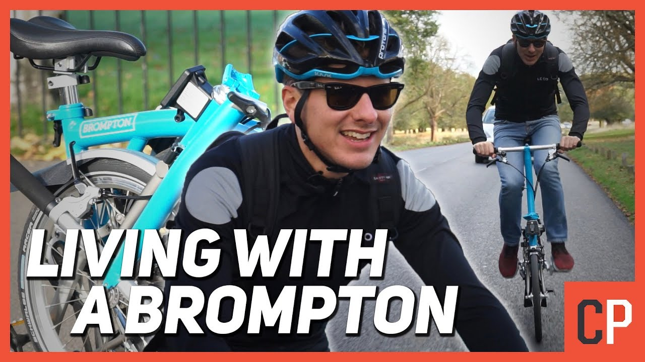 Living With A Brompton: What's A Folding Bike Really Like?