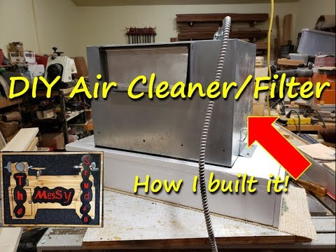 #59 - DIY Air Cleaner/Filter... How I built it!
