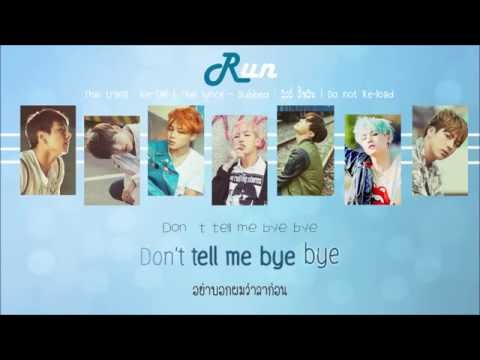 [THAISUB] Run - BTS