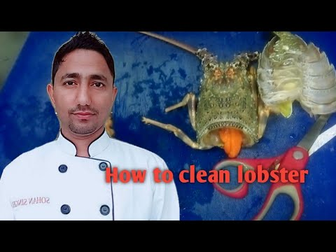 how to clean lobster before cooking,