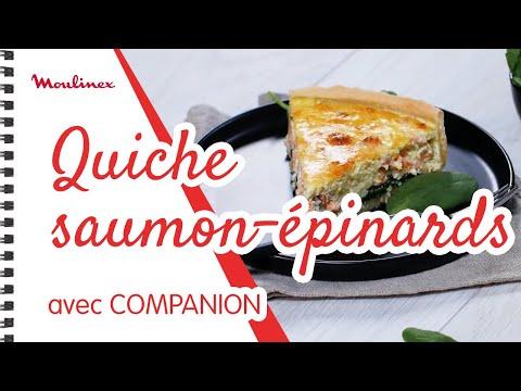recette-companion---quiche-saumon-épinards
