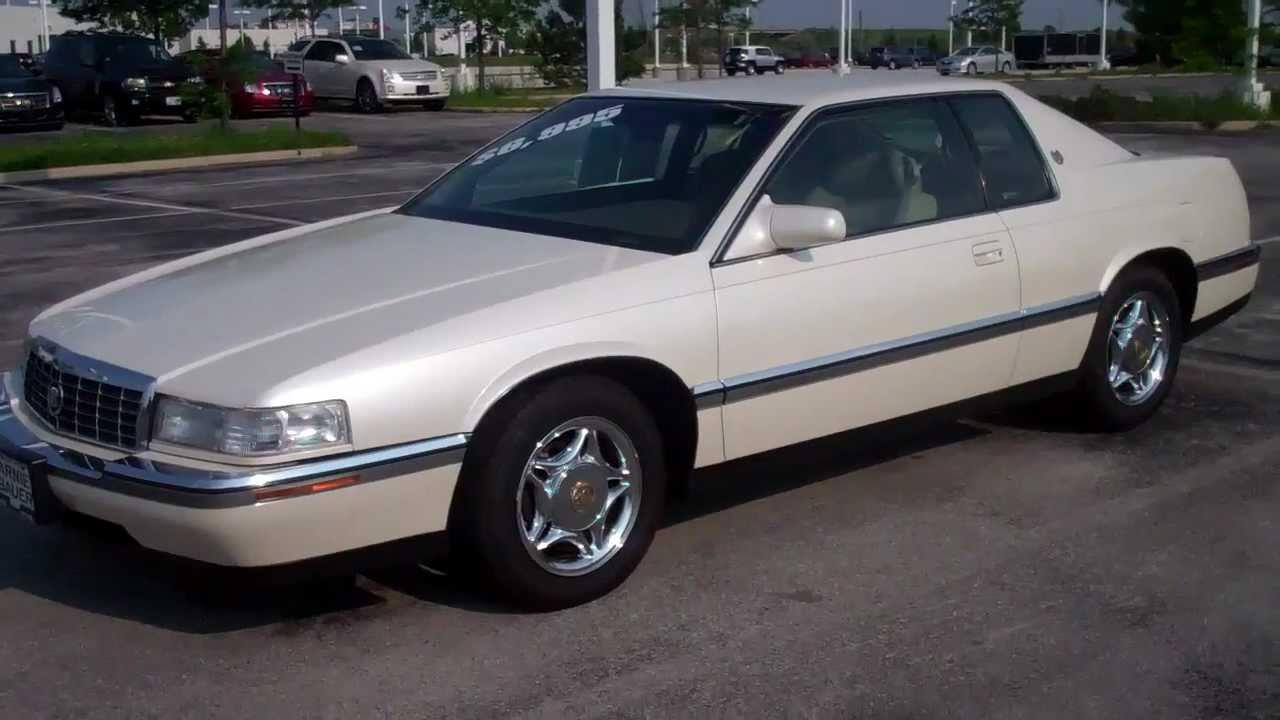 1993 Cadillac Eldorado Coupe 81,219 miles 855-492-2339 - YouTube