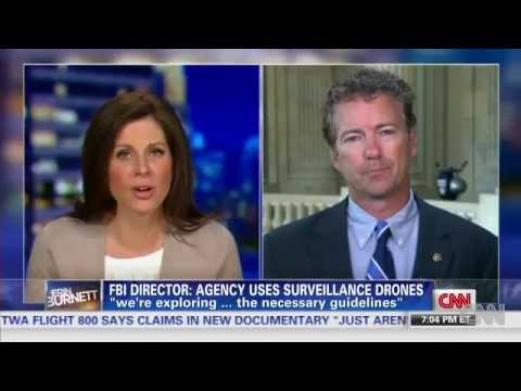 Rand Paul Concerned Over FBI Use of Drones For Domestic Surveillance