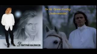 Дмитрий Маликов - Ты Не Прячь Улыбку (1995) (Instrumental)