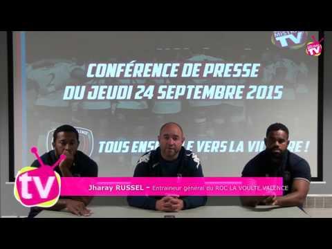 RUGBY - Conference de presse du ROC