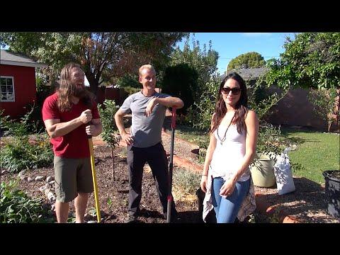Gardening w/ Bryan Danielson (WWE Superstar Daniel Bryan) & Brianna Danielson (WWE Diva Brie Bella)