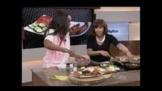 Caramelized Onion Sirloin Steak Burger Stuffed With Brie Cooking Demo On Cityline