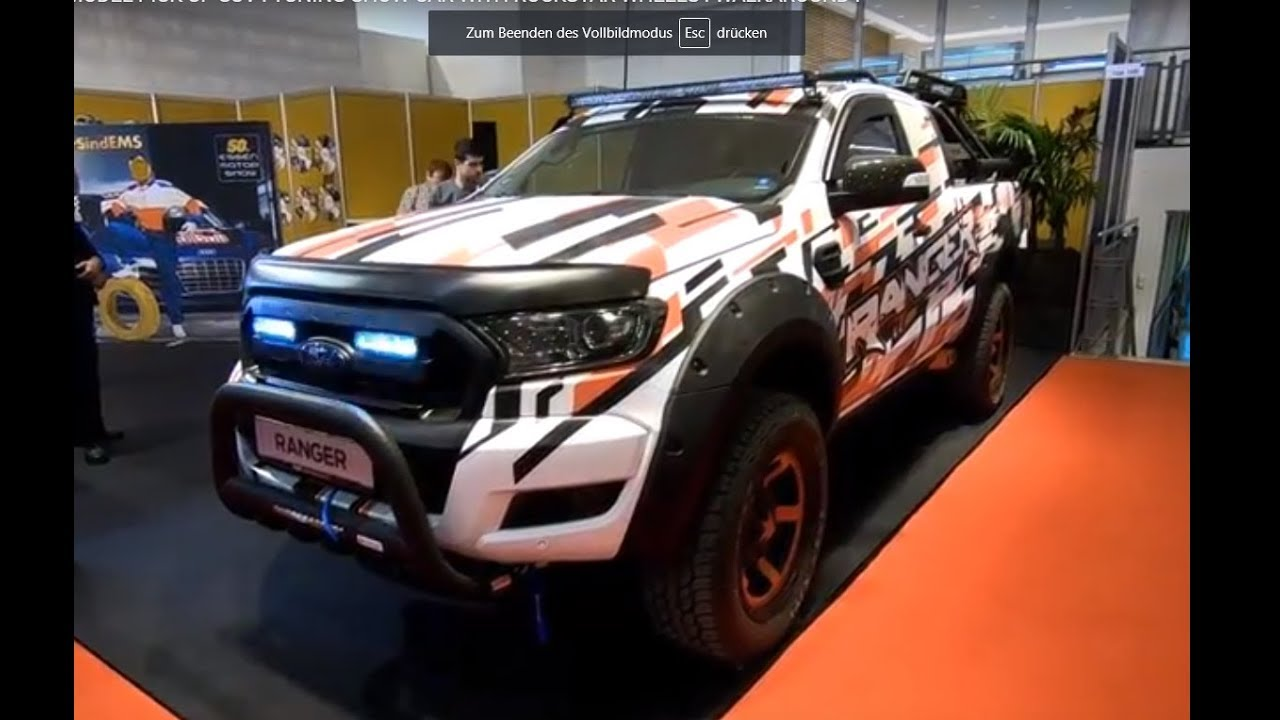 Bien-aimé FORD RANGER NEW MODEL PICK UP SUV ! TUNING SHOW CAR WITH ROCKSTAR  XG85