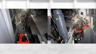 SYNCROMILL D - unique machining center / einzigartiges Bearbeitungszentrum von Fill