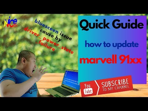 [Blue Screen - FIXED] - How To Update Marvell 91xx Config ATA Device