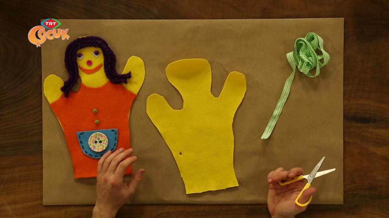 Çocuklarınıza Özel Pratik Kukla Yapımı