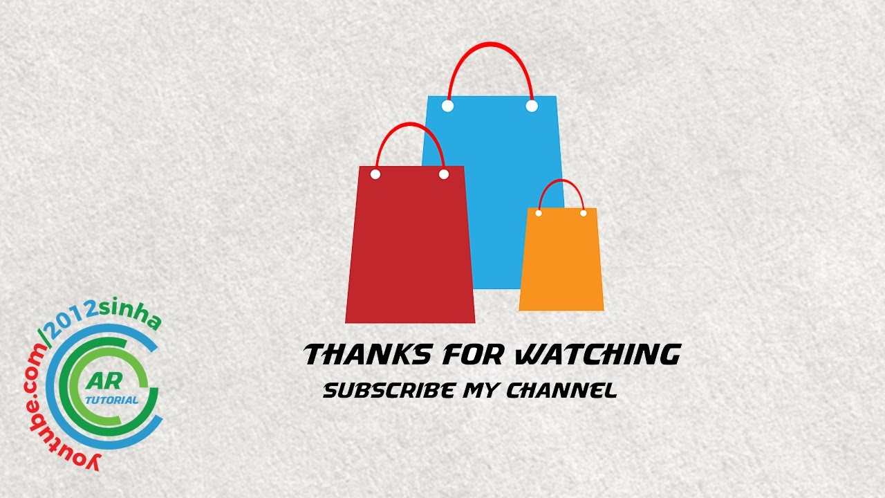 How to make online shopping bag in adobe illustrator - YouTube