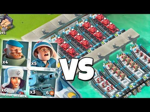 ATTACKING Players with THEIR Troops in Boom Beach!