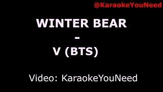 [Karaoke] Winter Bear - V (BTS)