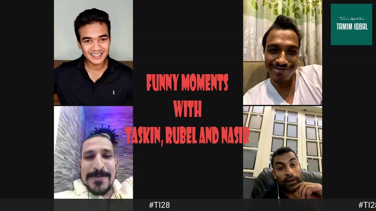 #TI28 Best of Tamim Iqbal Live with Rubel and Taskin