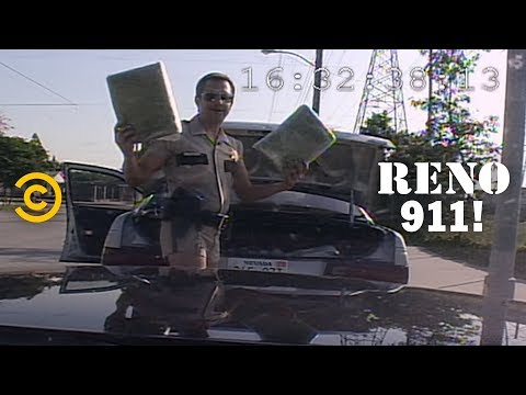 Car Crash Turned Drug Bust - RENO 911!