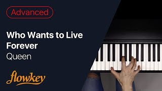 Queen – Who Wants to Live Forever (Advanced Piano Arrangement)