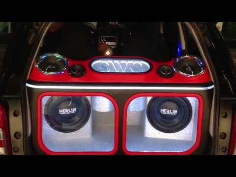 เครื่องเสียงรถ Nissan March by Sound Wave Car Audio