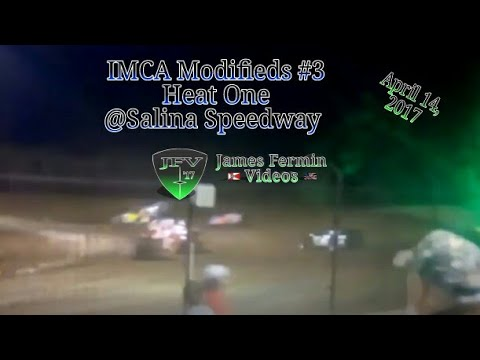 IMCA Modified #1, Heat, Salina Speedway, 2017