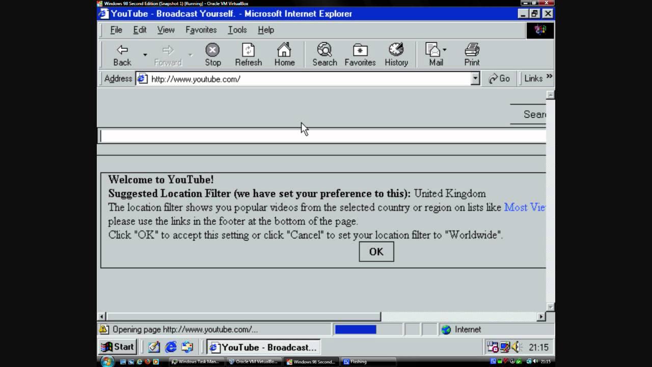 Internet Explorer 5 in 2011 - YouTube