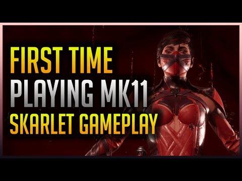 Mortal Kombat 11: FIRST TIME EVER PLAYING THE GAME! (Skarlet Gameplay) thumbnail