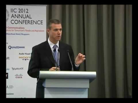 Ed Richards, Ofcom (UK), considers the challenges facing regulators. IIC 2012 Annual Conference