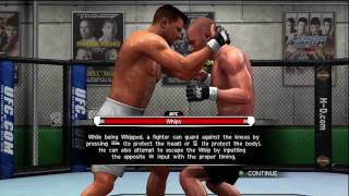 UFC 2009 Undisputed Tutorial - Takedown & Clinch