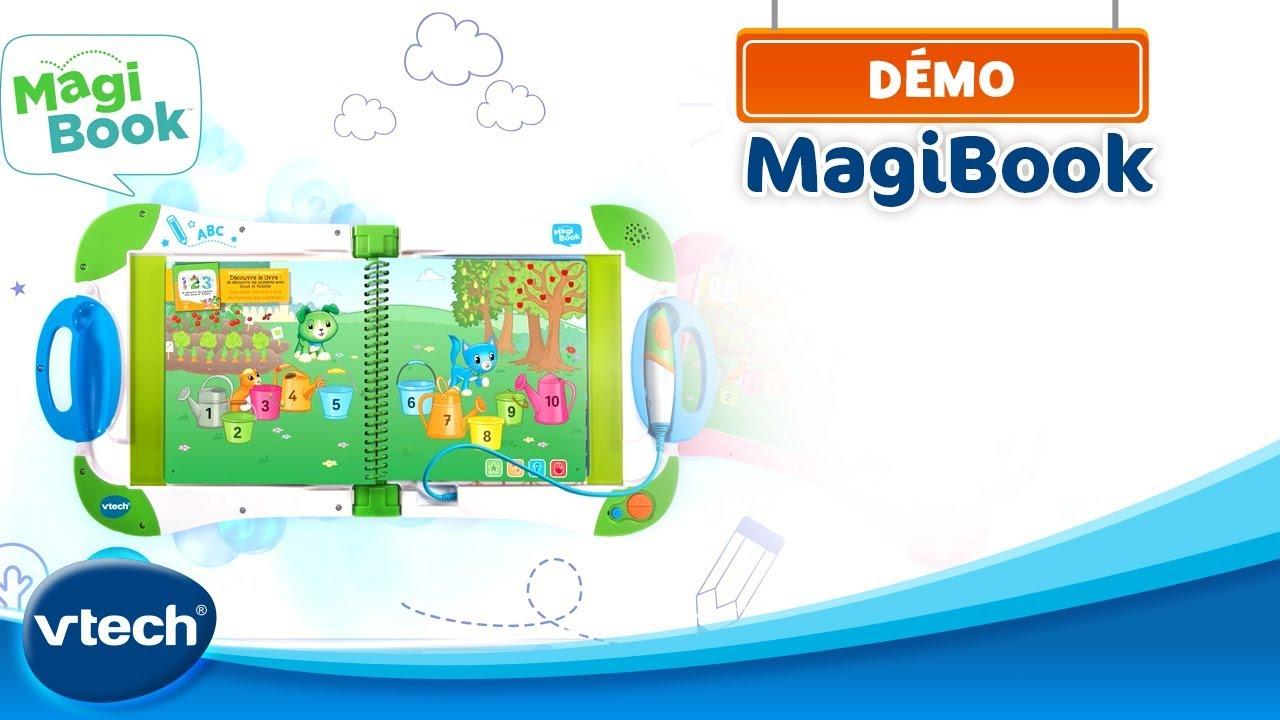 livre interactif magibook