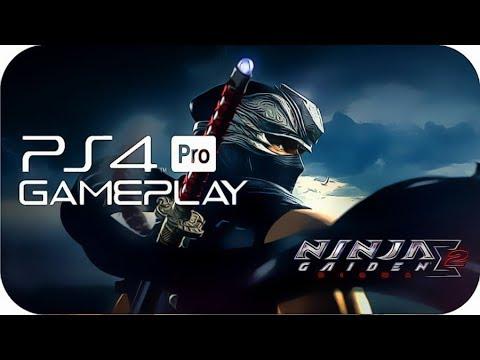 Ninja Gaiden Sigma 2 Ps4 Pro Gameplay Ps Now Youtube