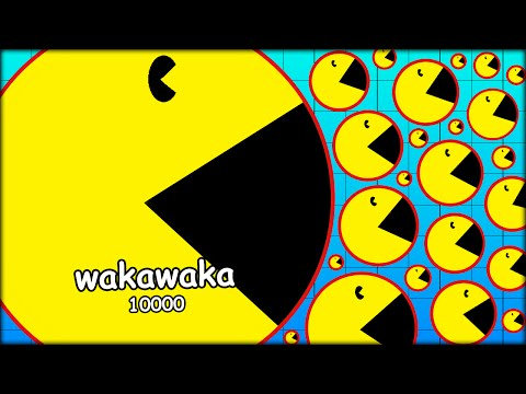 THE BIGGEST AGARIO PACMAN WITH OVER 10 000 SCORE (THE MOST ADDICTIVE GAME - AGARIO #14)