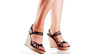 How to Walk in High-Heeled Wedges | High Heel Walking