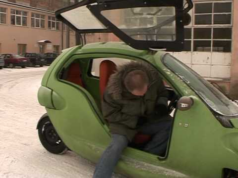 Driving down pollution: Next-generation electric car