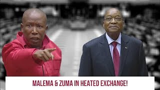 MALEMA AND BABA KADUDUZANE IN HEATED EXCHANGE
