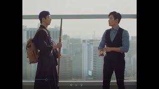 김정민의 남자백팩 브랜드 빌포드 백팩
