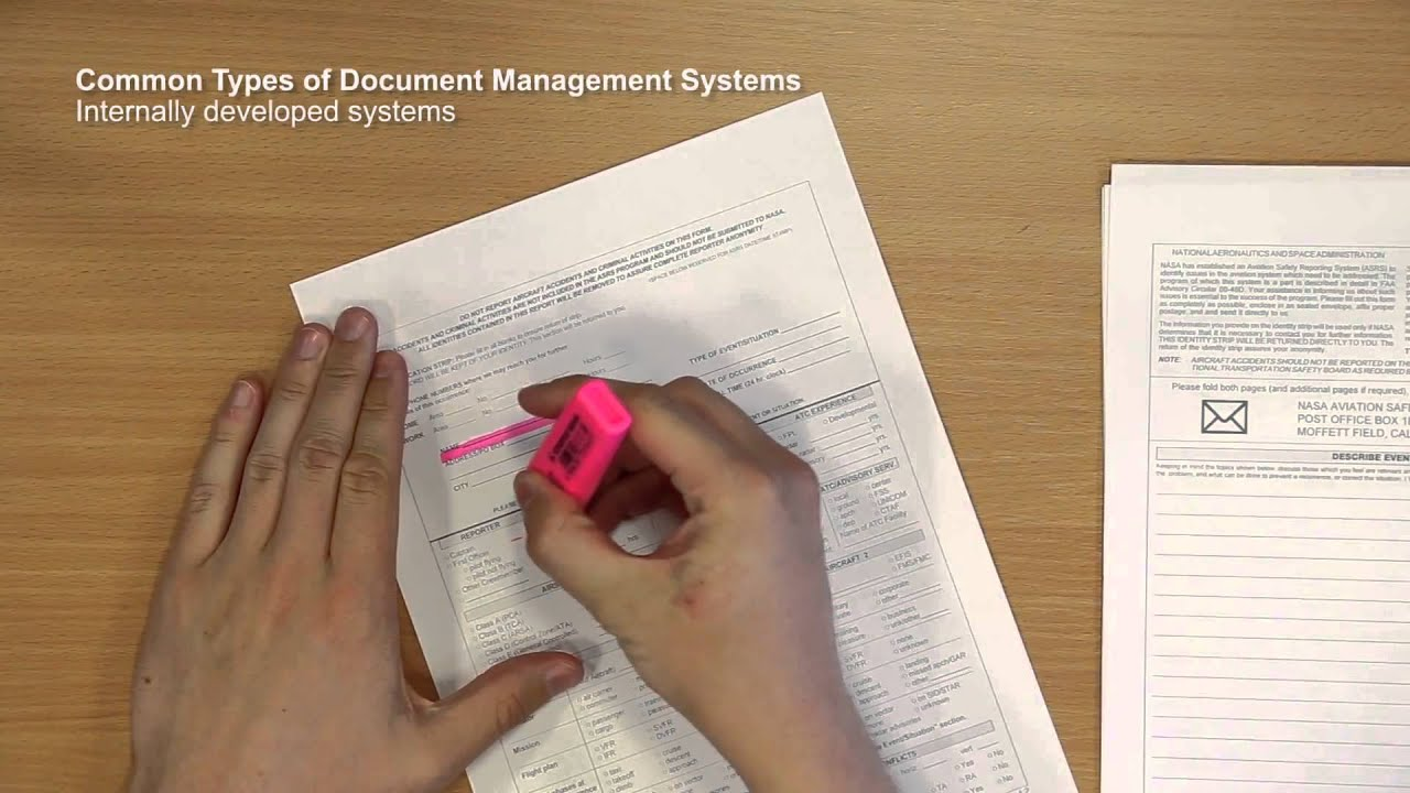 A Practical Approach to Effective Document Management